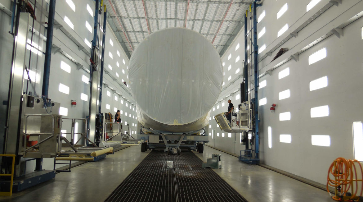 Boeing Facility | Air Quality Control System Design | Spray Booth Exhaust & Ventilation