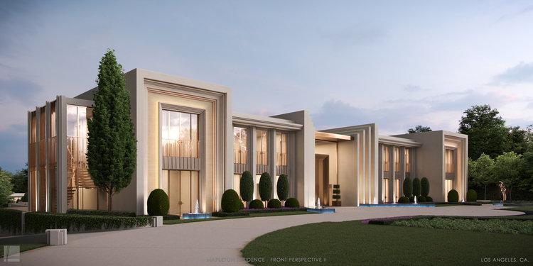 Mapleton Residence   Exterior Side   Landry Design Group