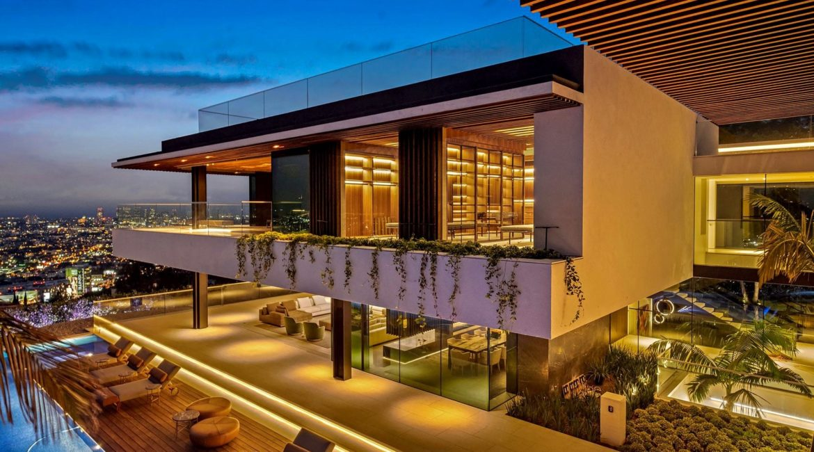 Hillside House Exterior | SAOTA-Designed House Listed at $43M