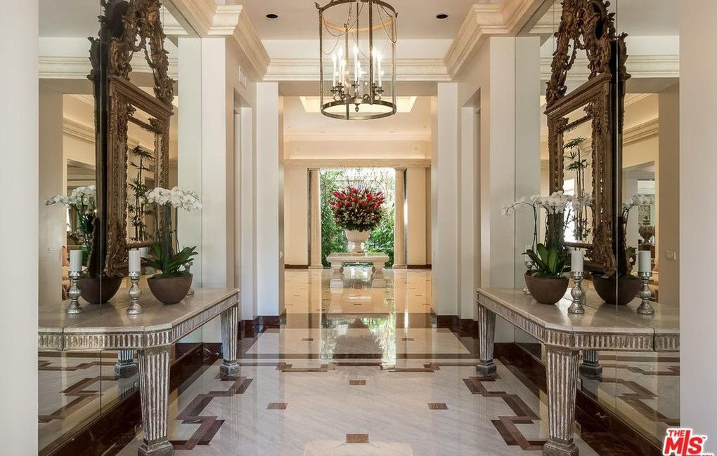 Saudi Royal Residence | Beverly Hills, CA | Interior Foyer
