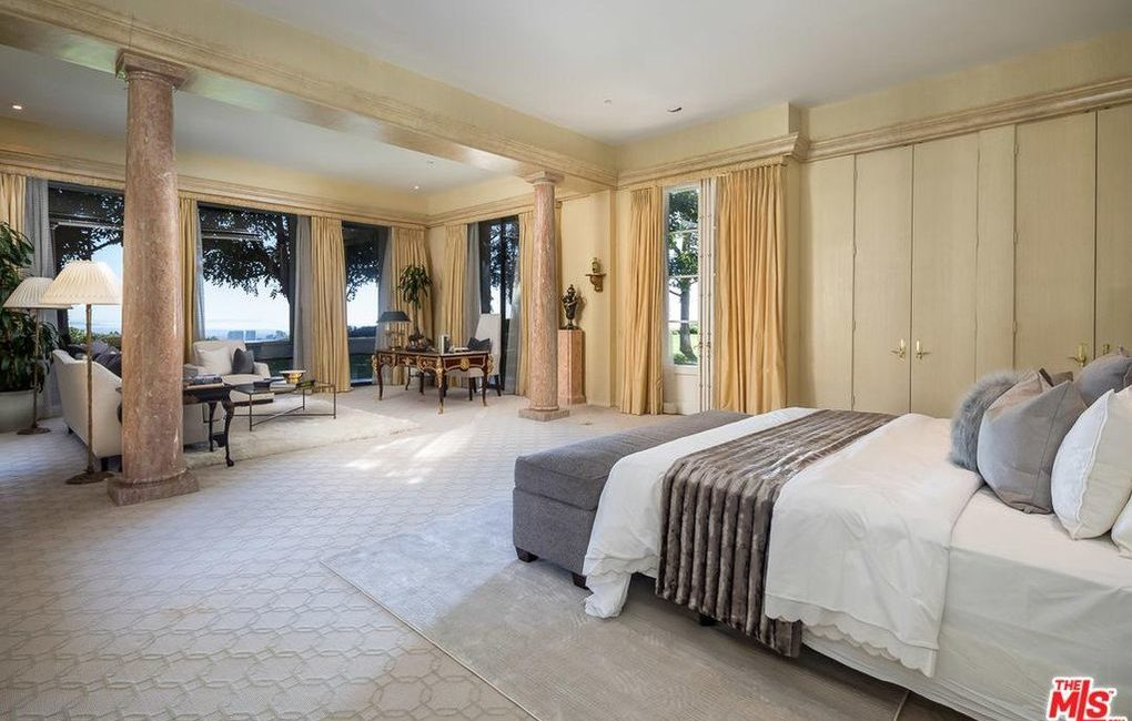Saudi Royal Residence | Beverly Hills, CA | Interior Bedroom