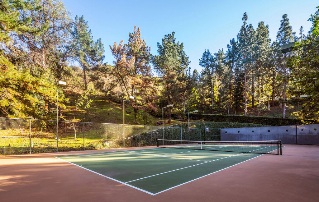 Saudi Royal Residence | Beverly Hills, CA | Tennis Courts