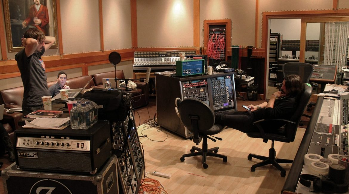 Foo Fighters Studio 606 | Sound Studio Control Room | Noise-Reduced HVAC System Design