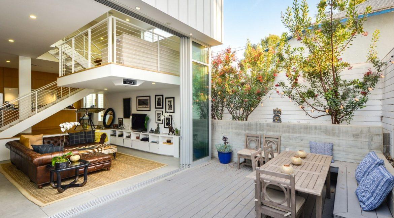 LEED Platinum-Certified Venice Condos | Exterior Deck | HVAC & Plumbing Design