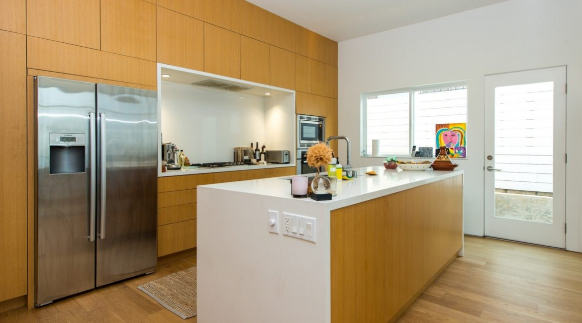 LEED Platinum-Certified Venice Condos | Interior Kitchen | HVAC & Plumbing Design